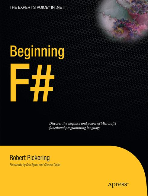 Cover of 'Beginning F#'