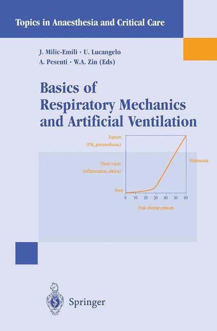 Cover of 'Basics of Respiratory Mechanics and Artificial Ventilation'