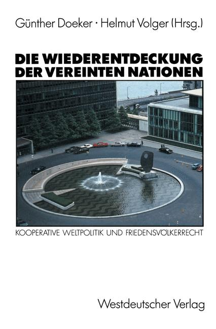 Cover of 'Die Wiederentdeckung der Vereinten Nationen'