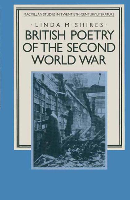 Cover of 'British Poetry of the Second World War'