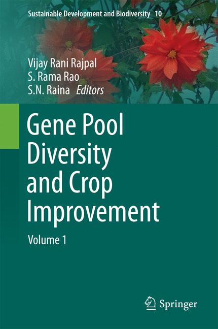 Cover of 'Gene Pool Diversity and Crop Improvement'