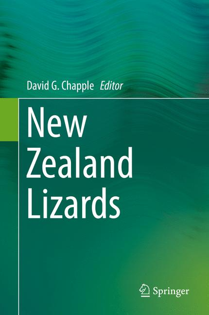 Cover of 'New Zealand Lizards'