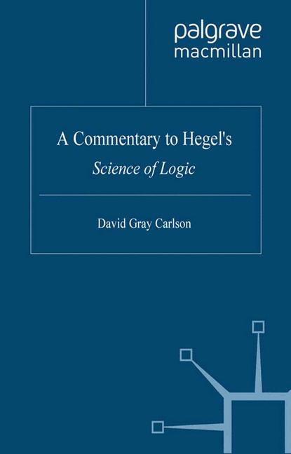 Cover of 'A Commentary to Hegel's Science of Logic'