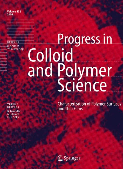 Cover of 'Characterization of Polymer Surfaces and Thin Films'