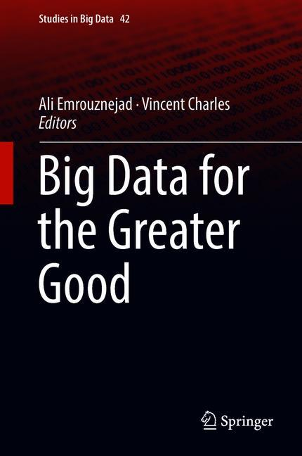 Cover of 'Big Data for the Greater Good'