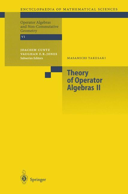 Cover of 'Theory of Operator Algebras II'