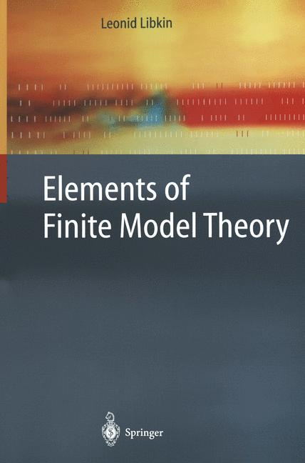 Cover of 'Elements of Finite Model Theory'