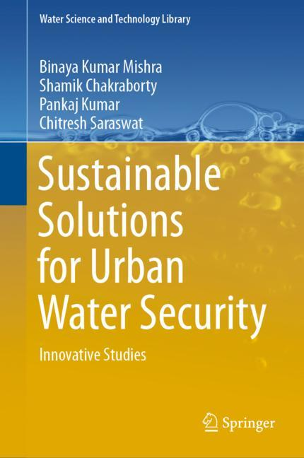 Cover of 'Sustainable Solutions for Urban Water Security'