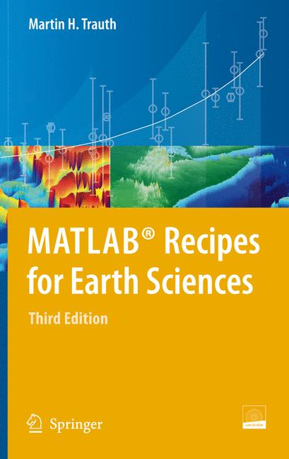 Cover of 'MATLAB® Recipes for Earth Sciences'