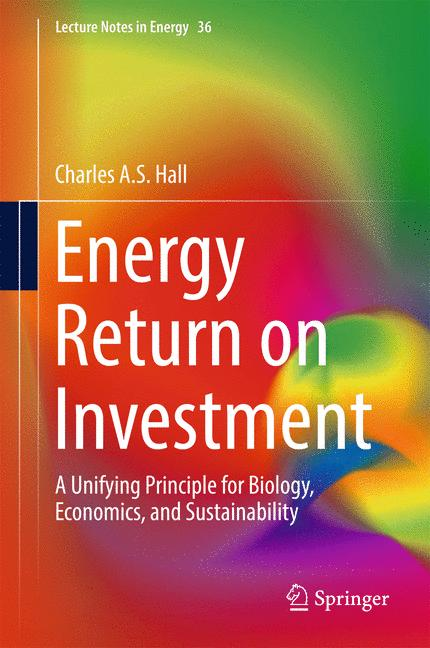 Cover of 'Energy Return on Investment'