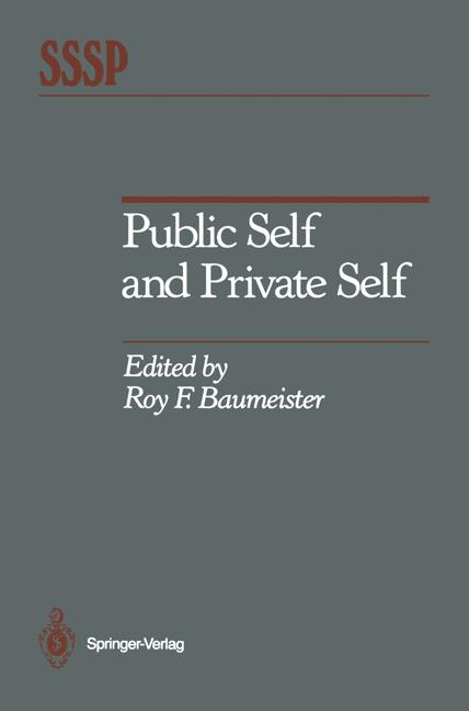 Cover of 'Public Self and Private Self'