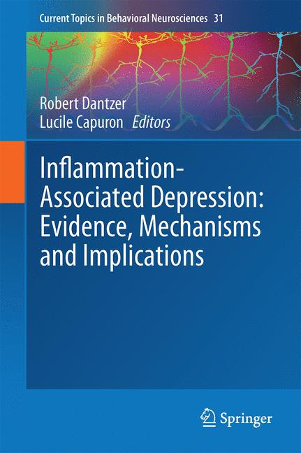 Cover of 'Inflammation-Associated Depression: Evidence, Mechanisms and Implications'