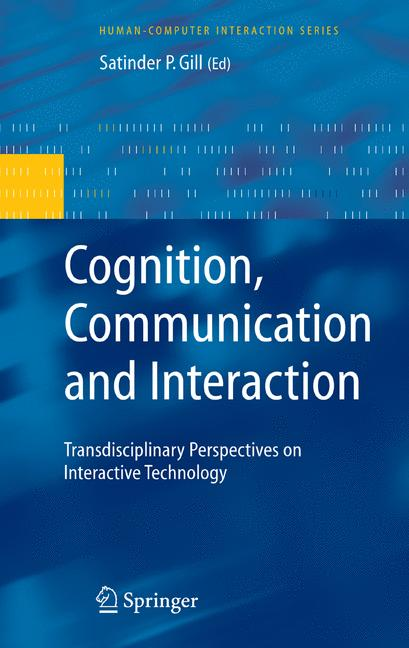 Cover of 'Cognition, Communication and Interaction'