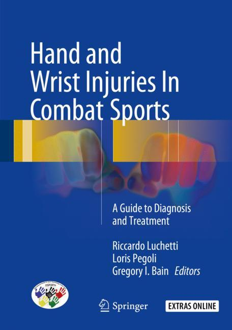 Cover of 'Hand and Wrist Injuries In Combat Sports'