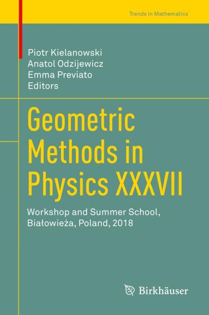 Cover of 'Geometric Methods in Physics XXXVII'