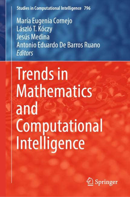 Cover of 'Trends in Mathematics and Computational Intelligence'