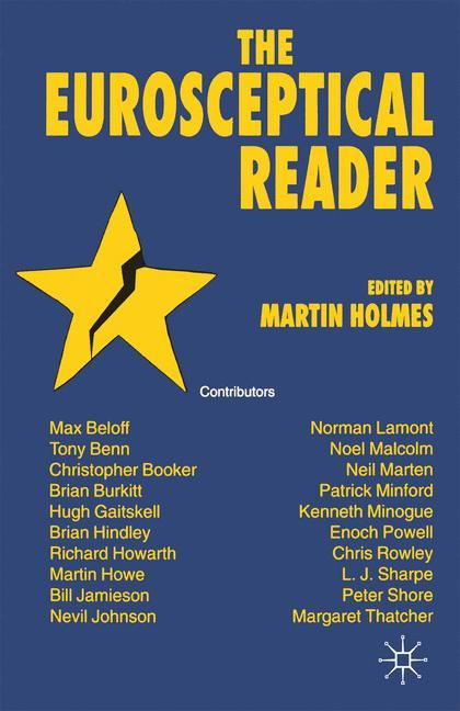 Cover of 'The Eurosceptical Reader'