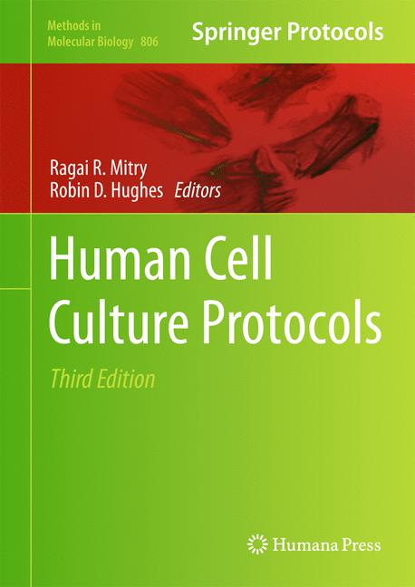 Cover of 'Human Cell Culture Protocols'