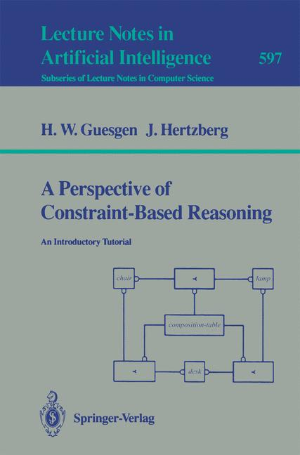 Cover of 'A Perspective of Constraint-Based Reasoning'