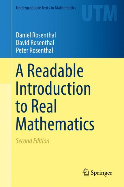 Cover of 'A Readable Introduction to Real Mathematics'