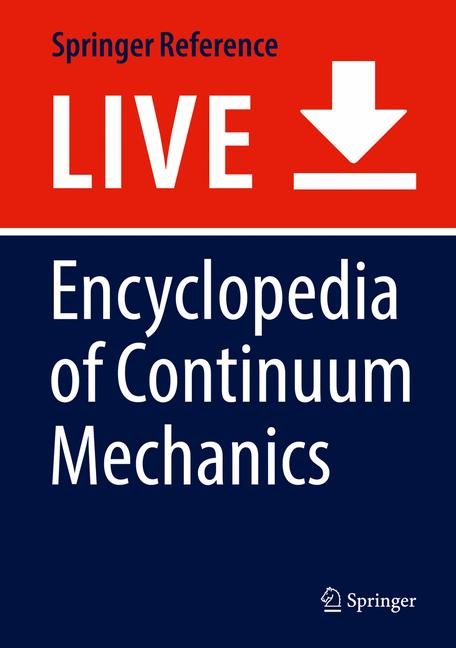 Cover of 'Encyclopedia of Continuum Mechanics'