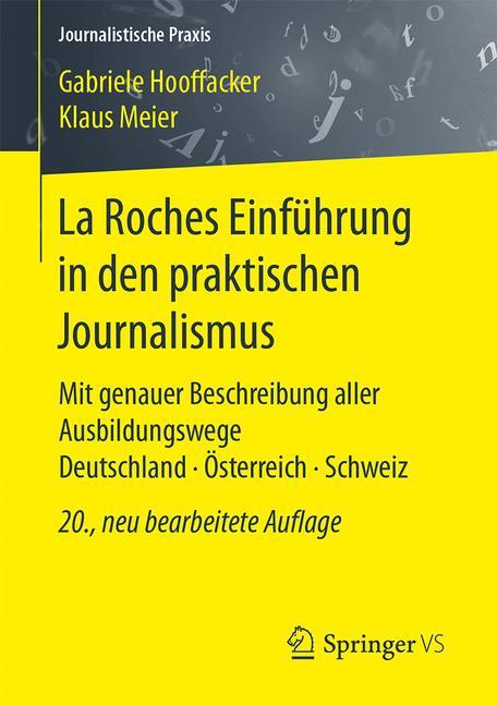 Cover of 'La Roches Einführung in den praktischen Journalismus'