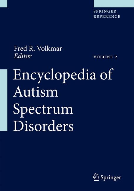 Cover of 'Encyclopedia of Autism Spectrum Disorders'