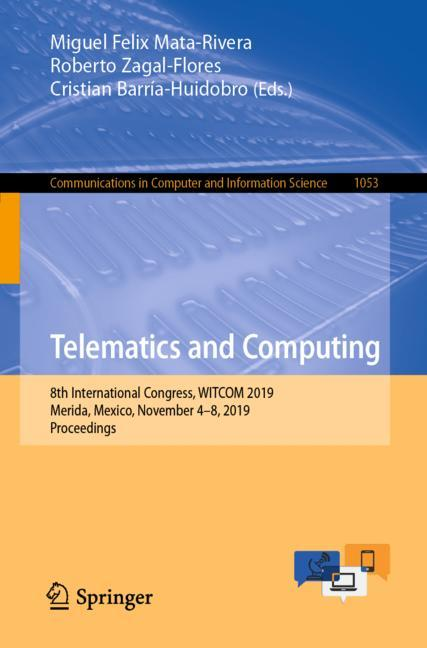 Cover of 'Telematics and Computing'