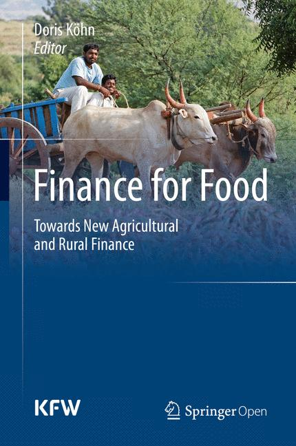 Cover of 'Finance for Food'