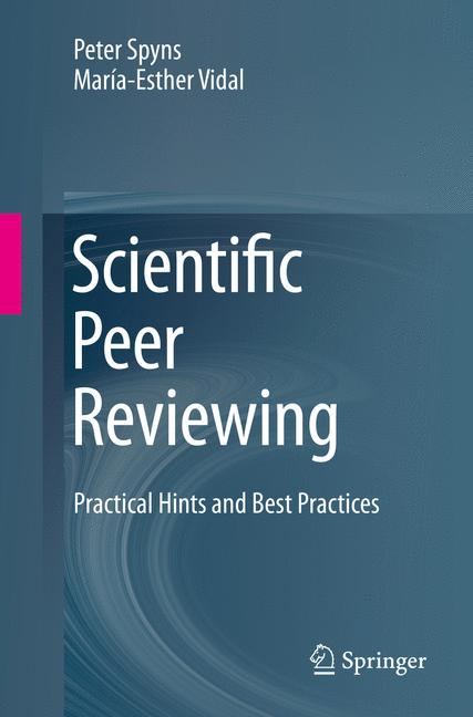 Cover of 'Scientific Peer Reviewing'