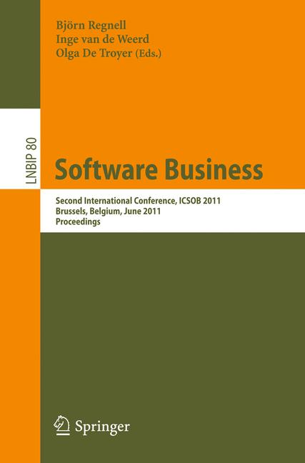 Cover of 'Software Business'