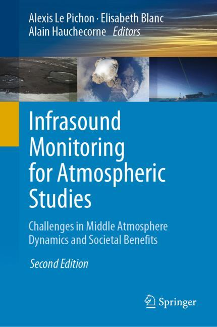 Cover of 'Infrasound Monitoring for Atmospheric Studies'