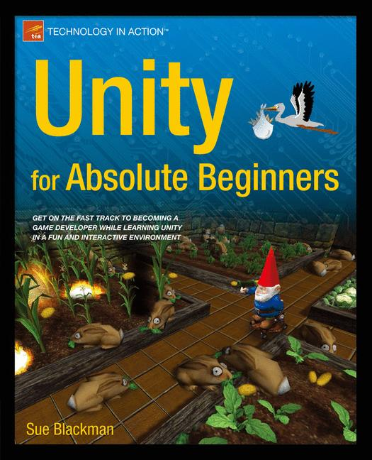 Cover of 'Unity for Absolute Beginners'