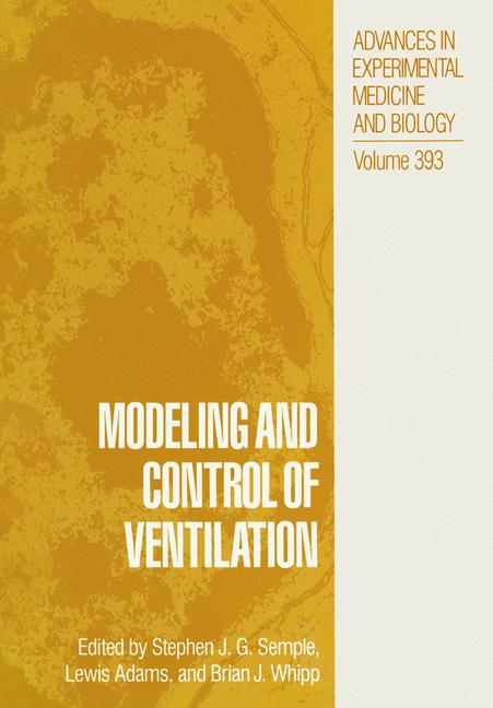 Cover of 'Modeling and Control of Ventilation'
