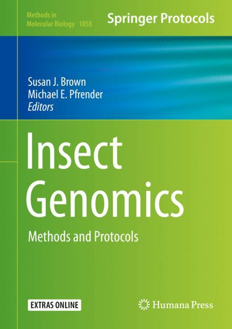 Cover of 'Insect Genomics'