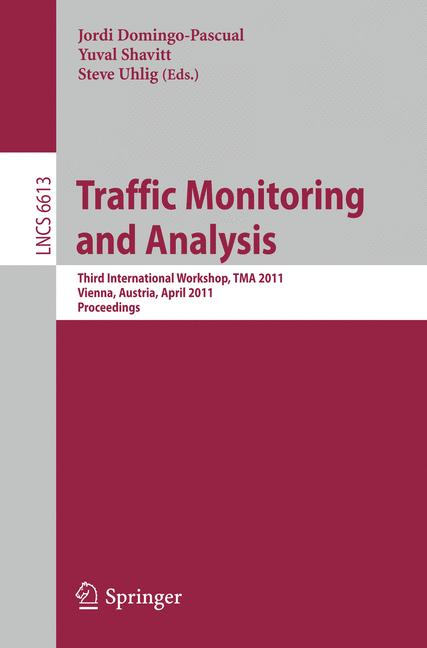 Cover of 'Traffic Monitoring and Analysis'