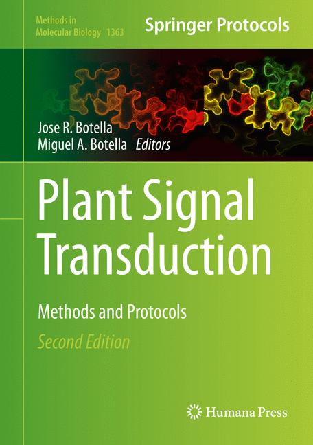 Cover of 'Plant Signal Transduction'