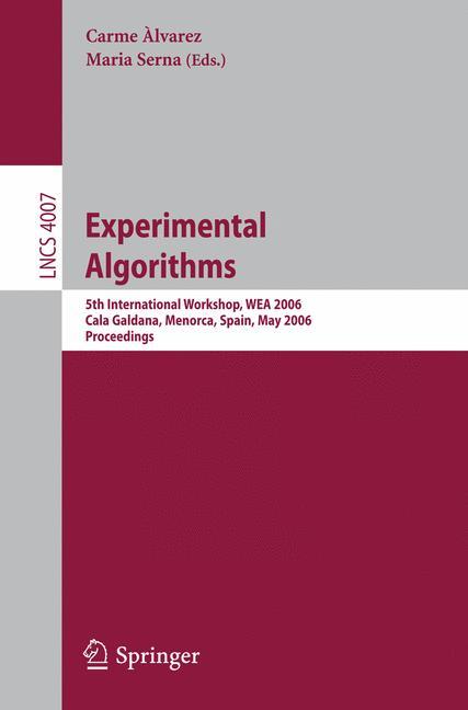 Cover of 'Experimental Algorithms'