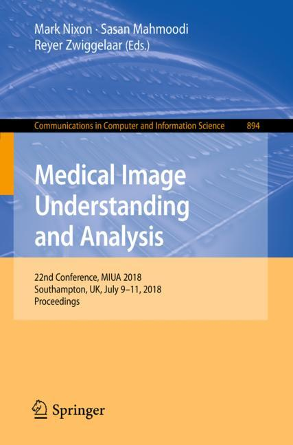 Cover of 'Medical Image Understanding and Analysis'