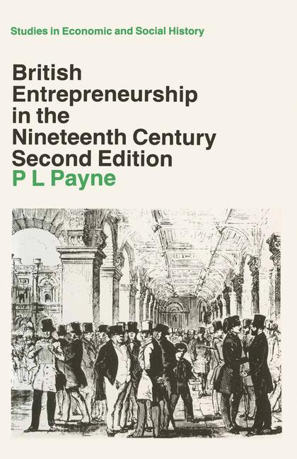 Cover of 'British entrepreneurship in the nineteenth century'