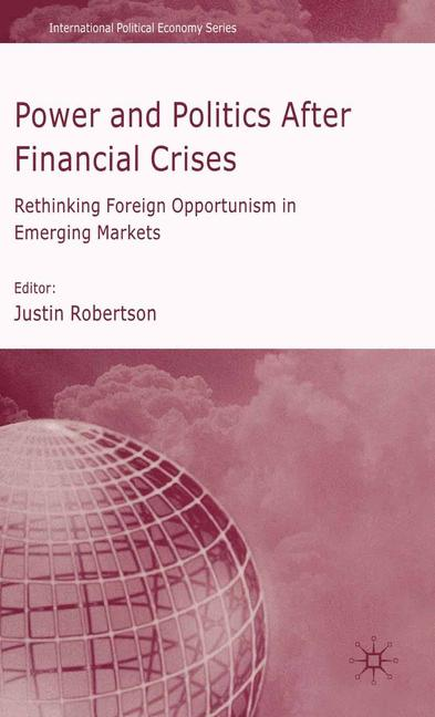 Cover of 'Power and Politics After Financial Crises'