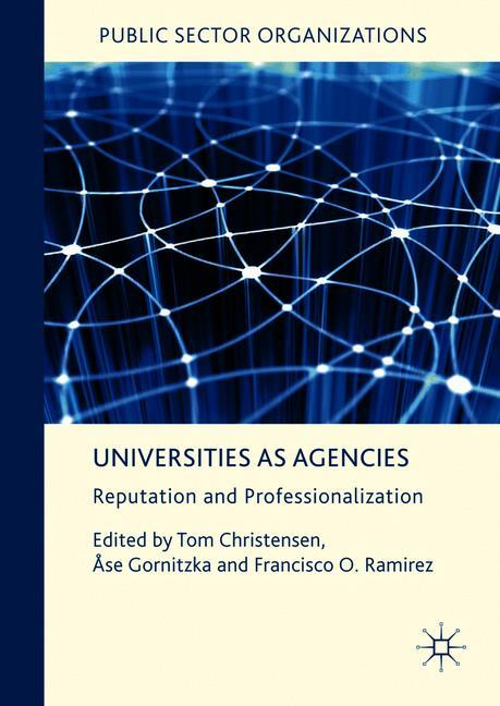 Cover of 'Universities as Agencies'