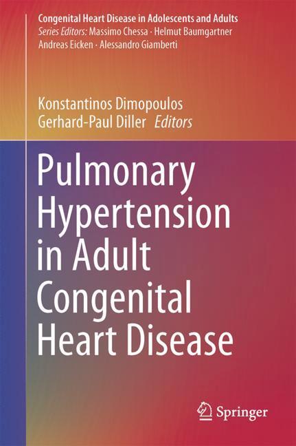 Cover of 'Pulmonary Hypertension in Adult Congenital Heart Disease'