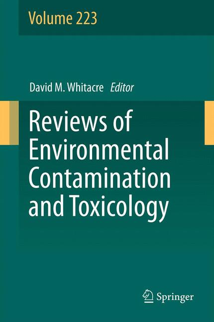 Cover of 'Reviews of Environmental Contamination and Toxicology Volume 223'