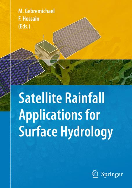 Cover of 'Satellite Rainfall Applications for Surface Hydrology'