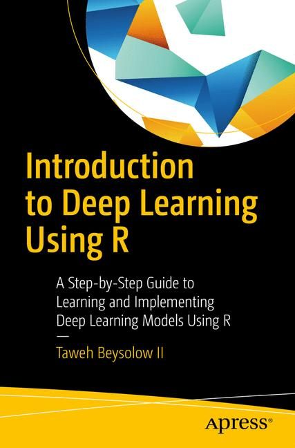 Cover of 'Introduction to Deep Learning Using R'