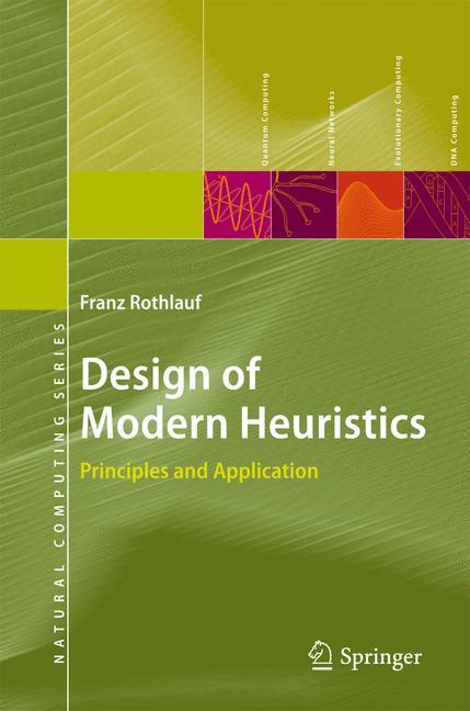 Cover of 'Design of Modern Heuristics'