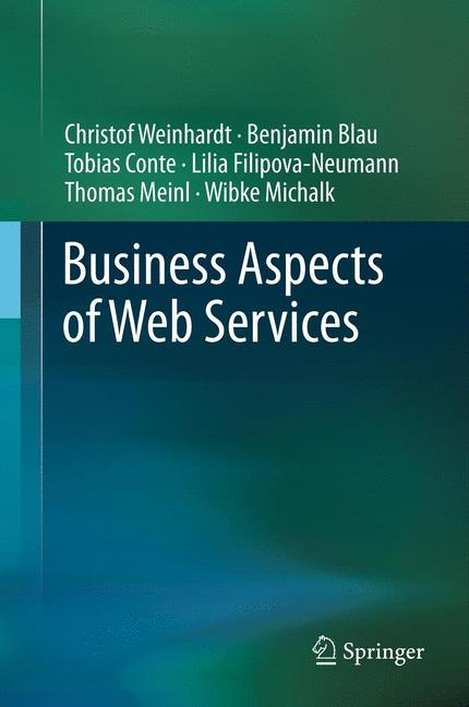 Cover of 'Business Aspects of Web Services'