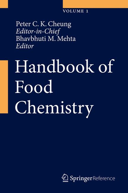 Cover of 'Handbook of Food Chemistry'