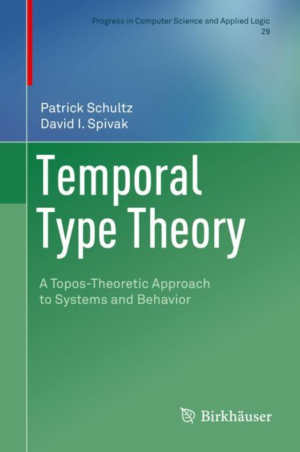 Cover of 'Temporal Type Theory'